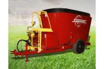 Model 500T - Pull Type Twin Auger Mixer