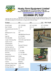 Husky - Model H10000 - Pump Brochure