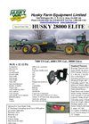 Husky Elite - Model 28000 - Spreaders Brochure