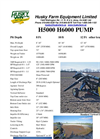 Husky - Model H5000 - Pump Brochure