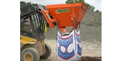 Albutt - Model BF - Bag Filling Buckets