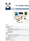 Model C - Soil Sample Ring Kits Manual