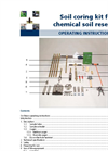 Soil Coring Kit for Chemical Soil Research Manual