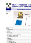EC-Probe for Soil Salinity Measurements - Manual