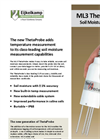 ThetaProbe - Model ML3 - Soil Moisture Measuring Set Brochure