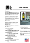 Model VPM - Electronically Measures Meter Brochure