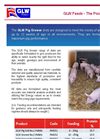 GLW Feeds -Pig Grower Brochure