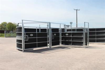 FIBROTEX - Portable Cattle Handling System
