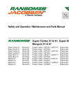 Ransomes - Marquis 51/61 - Pedestrian Mowers  Brochure