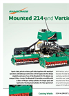 Ransomes Verticut - Model 214 - Mounted Mowers Brochure
