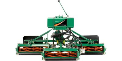 Ransomes Verticut - Model 214 - Mounted Mowers