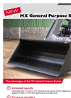 MX - General Purpose Bucket - Brochure