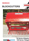 85 Series - Alligator Silage Blockcutter Brochure