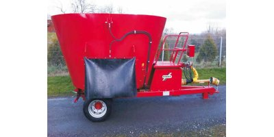 Single Auger Vertical Mixer Feeder