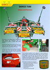 Model 7100 - 6-Row Folding Drills Brochure