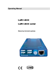 Lufft - Model I-Box Serial - Measurement instruments Gateway - Operating Manual