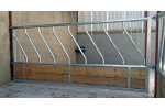 Timber Diagonal Feed Barrier