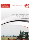 Silvercut - Model 270, 300, 340 and 380 - Disc Mowers Brochure