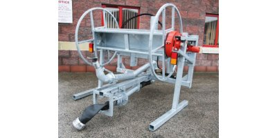 Model 600m/800m - Quick Release Reeler with Single Splashplate