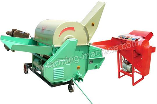 Electric And Diesel Engine Drived Rice/Paddy/Wheat Thresher