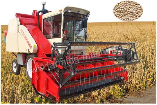 Soybean Combine Harvesting Machines