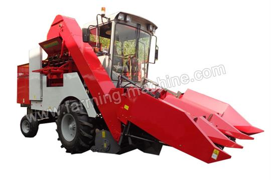 Three Row Corn Harvesting Peeling Machine