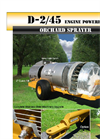 Air-O-Fan - Model D-2/45 - 1,000 Gallon Engine-Driven Sprayer - Brochure