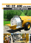Air-O-Fan - Model SE-30/32 - 400 Gallon PTO-Driven Sprayer - Brochure