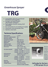 Greenhouse Sprayers TRG Series - Brochure