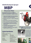 Mobile Backpack Sprayer - Brochure