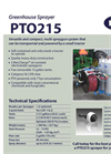 Narrow Row Sprayers PTO 215 Series - Brochure