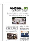 Model VM300 - Truck Mounted Sprayer Brochure