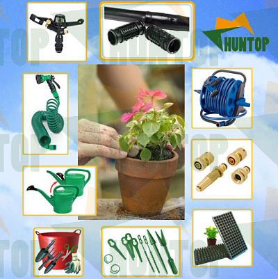 Micro Irrigation Drip Kit China Huntop, Automatic Plant Watering System