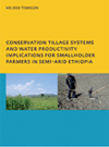 Conservation Tillage Systems and Water Productivity: Implications for Smallholder Farmers in Semi-Arid Ethiopia