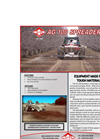 Model AG 100 - General Purpose Spreader Brochure