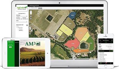 AgCode - Version AM3 - Vineyard Management Software