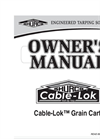 Shur-Co - Cable-Lok - Grain Cart - Manual