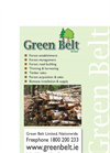 Green Belt - Major Services  Brochure