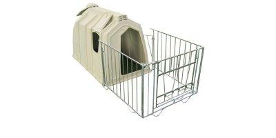 Premium  - Fance Calf Hutch