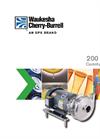 Waukesha - SPX 200 Series - Centrifugal Pupmp Brochure