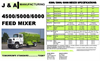 Model 4500/5000/6000 - Feed-Mixer Brochure