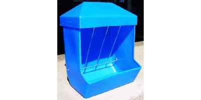 RR Blue Livestock Feeder