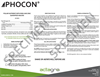 Phocon - Foliar Nutrient With Iron and Zinc Guaranteed Analysis - Brochure
