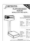 4500 Series - Bench Scales Brochure