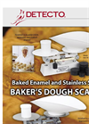 Detecto - 1001/1002 - Baker Dough Scales Brochure