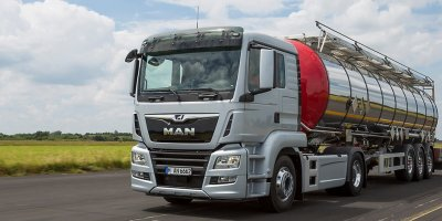 MAN - Model TGS - Truck for Long-Haul Transporter