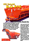 Model B0-816 - Low Profile Bank-Out Cart - Brochure