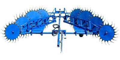 Model KC1820P - Adjustable Pull Behind Orchard Brush Rake