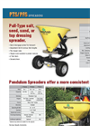 Land-Pride - Model PFS Series - Pendulum Type Broadcast Spreaders Brochure