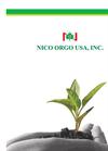 Nico Orgo USA Company Profile Brochure